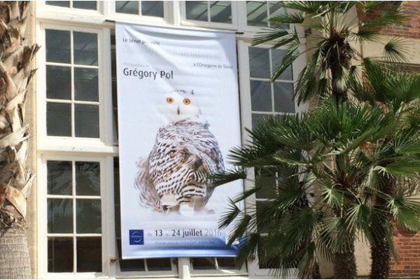 Affiche de l'exposition de Grégory Pol