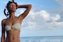Sonia Rolland en Martinique pour le tournage de la saison 3 de Tropiques Criminels.
