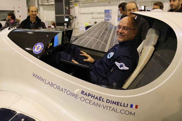 Raphaël Dinelli, fondateur du laboratoire Ocean Vital