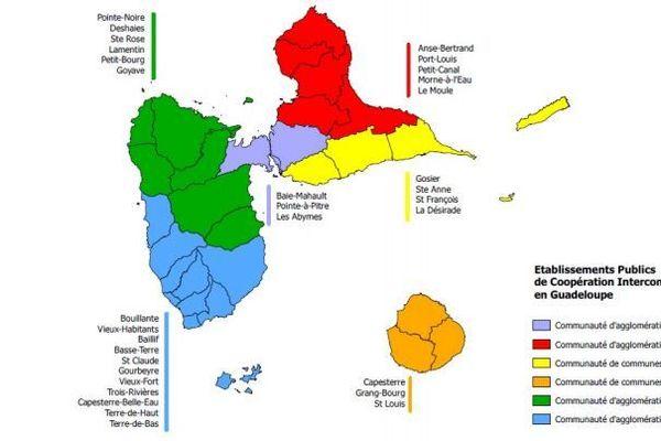 communauté d'agglomeration  de la Guadeloupe 2