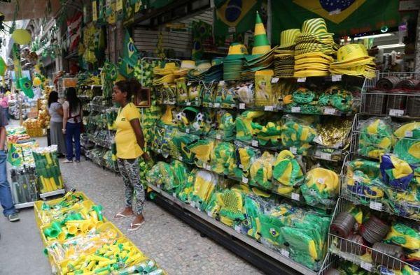 Boutique jaune et verte Rio