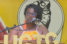 Maité Hubert M'Toumo, secrétaire générale de l'UGTG