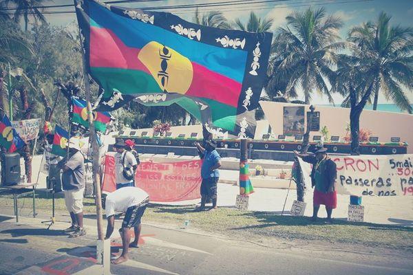 Ouvéa : mobilisation du collectif Gossanah le 2 mai 2018