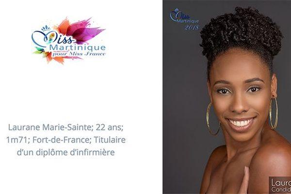 Miss 6 Laurane Marie-Sainte