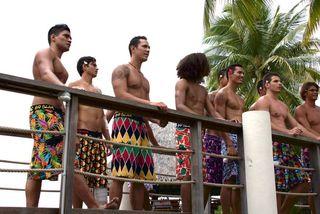 Tournage Mister Tahiti