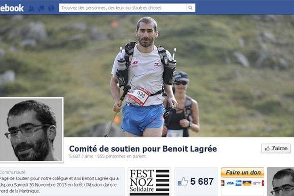 Comité de soutien pour Benoit Lagrée, page facebook