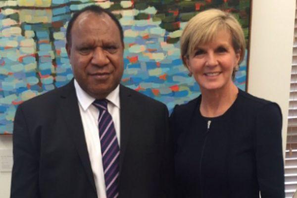 Ministres Australie et PNG