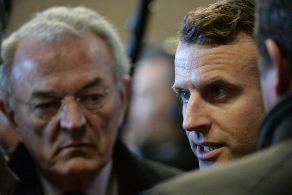 Arthuis et Macron