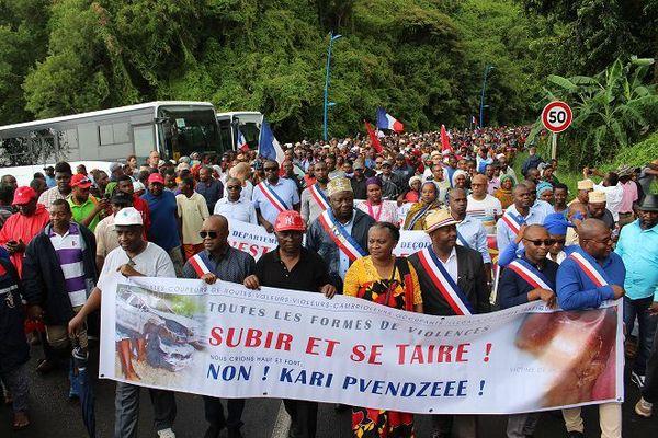 Manif Mayotte mercredi 7 mars