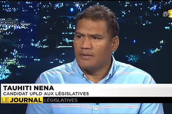 Législatives partielles : Tauhiti Nena veut y croire