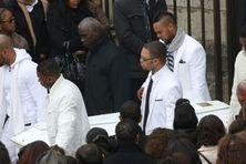 Les funérailles de Gérald Babin à Nemours en Seine et Marne