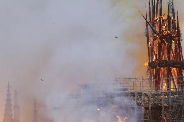 Notre-Dame de Paris en feu - Franceinfo