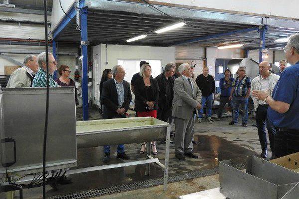 Un atelier de transformation de concombre de mer inauguré à Saint-Pierre