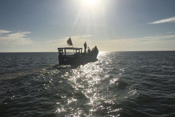 Pêche illégale au large d'Iracoubo