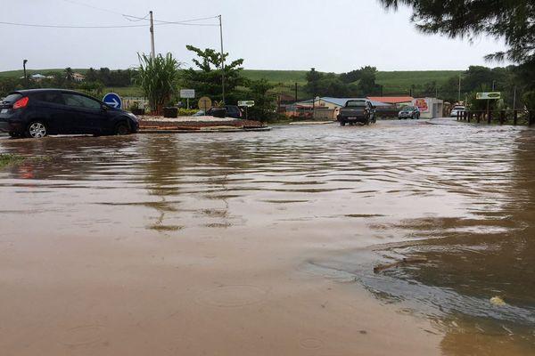 Inondation à Sainte-Marie