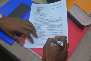Signature du protocole d'accord ce vendredi à 7h15