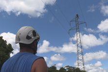 Sécurisation du réseau EDF à Sinnamary