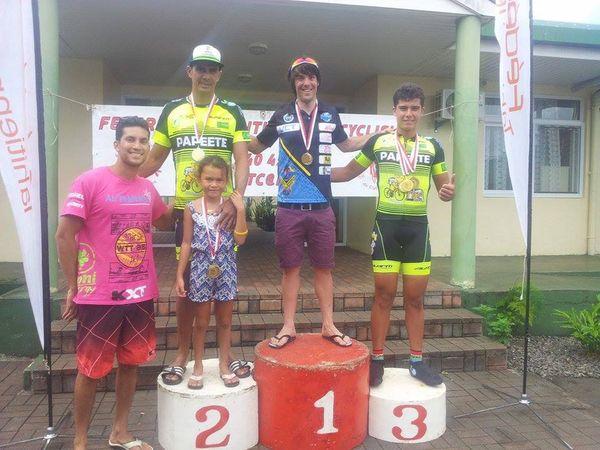 Grand prix de la Fédération tahitienne de cyclisme- 05 07 2015