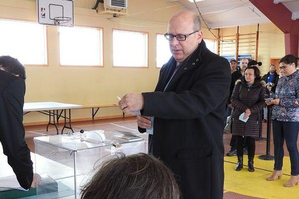 Vote de Stéphane Lenormand