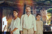 Fanny Torre, Vincent Kerriguy et Simon Saumier sont les acteurs principaux du film calédonien Boucan