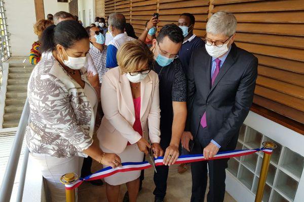 Inaugurations des réfectoires de Mont-Lucas à Cayenne