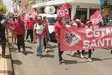plusieurs syndicats et associations ont manifesté dans les rues de Fort-de-France ce jeudi 27 septembre 2018