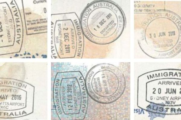 Mosaïque visas australiens