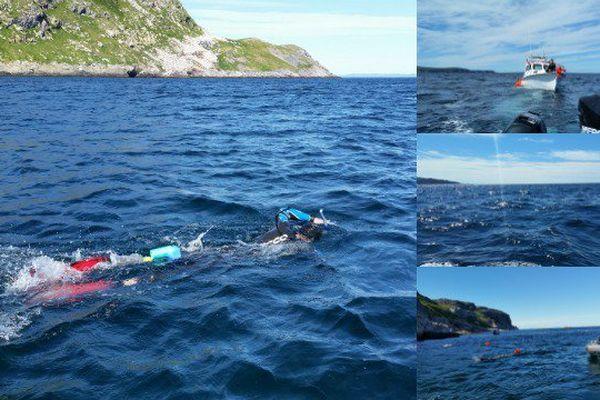 Traversée à la nage