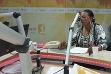 Josette Borel-Lincertin, la présidente de la collectivité départementale de Guadeloupe, invitée de Politique Première en radio.
