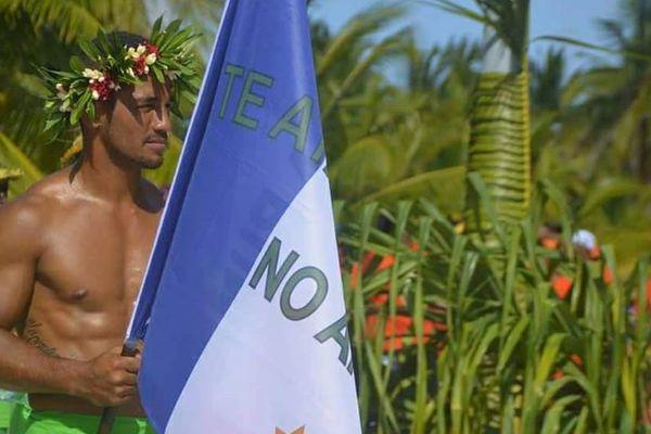 Top départ des Jeux inter-îles des Tuamotu