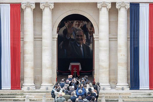 hommage chirac