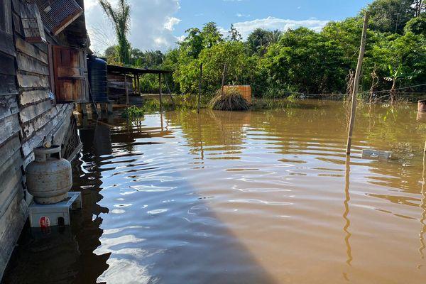 Inondations à Grand Santi