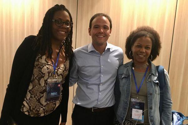 Stéphanie Africa, Cédric O et Peggy Ravin