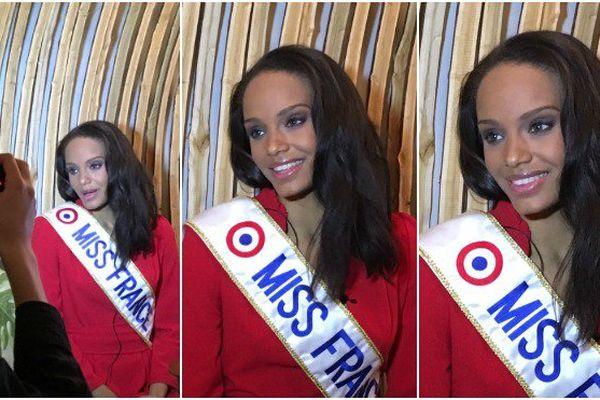 Miss France : les premiers pas d'Alicia Aylies, Miss Guyane, entourée de sa maman