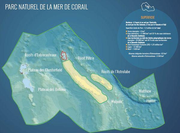 parc naturel de la mer de Corail