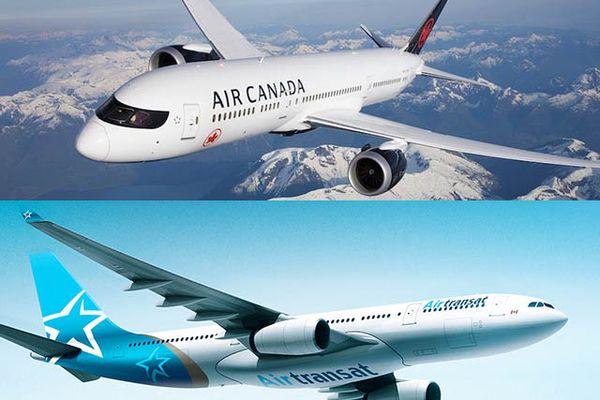 Air Canada et Air Transat