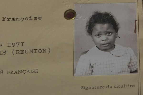 Françoise, enfant déracinée rêve de son île