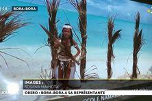 Concours de orero à distance pour les primaires de Bora Bora