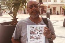 L'artiste martiniquais Georges Gromat dit Joko