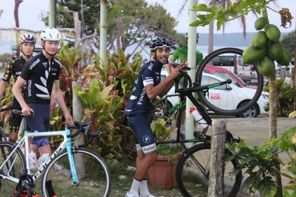 Les 46 coureurs arrivés sur Lifou se sont installés à Luecilla.