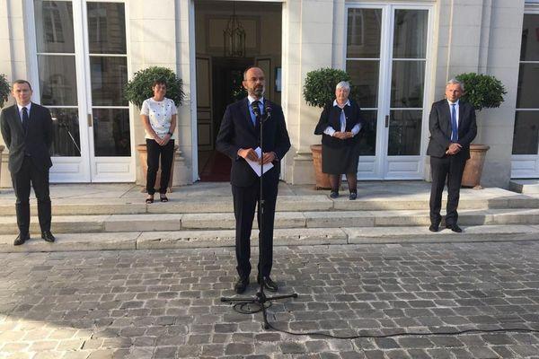 Edouard philippe ministère OM