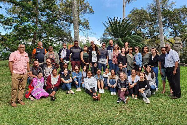 Les futurs professeurs des écoles en immersion au Centre Culturel Tjibaou