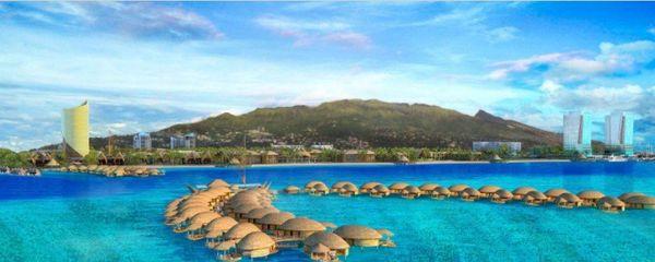 Tahiti mahana beach, version hawaienne