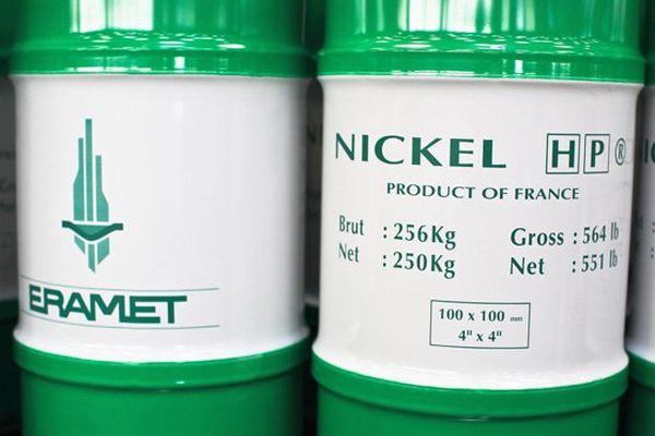 métal de nickel