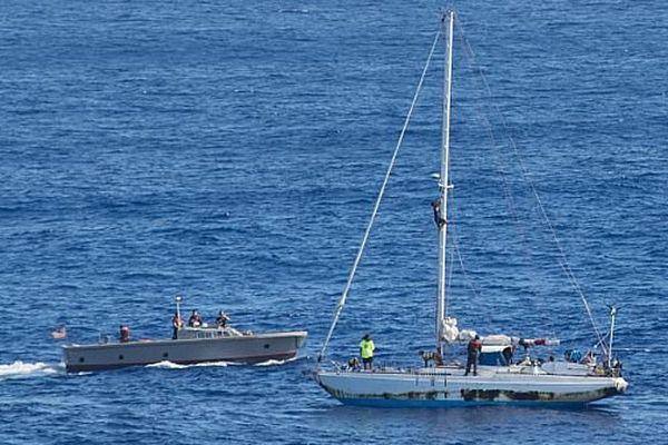 Navire secouru Pacifique