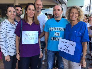 Les dentistes rejoignent la grève des professionnels privés de santé