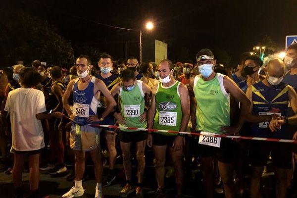 athlétisme course 10 km nocturnes sur route de Saint-Paul 111020