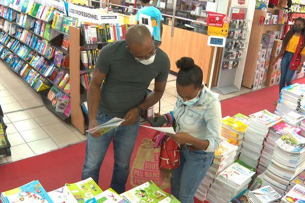 Clients à la librairie