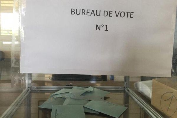 Bureau de vote à Maripasoula
