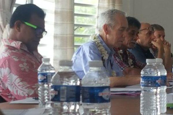réunion OPMR BQP à Futuna